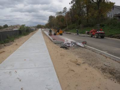Progress on Michigan's first green road