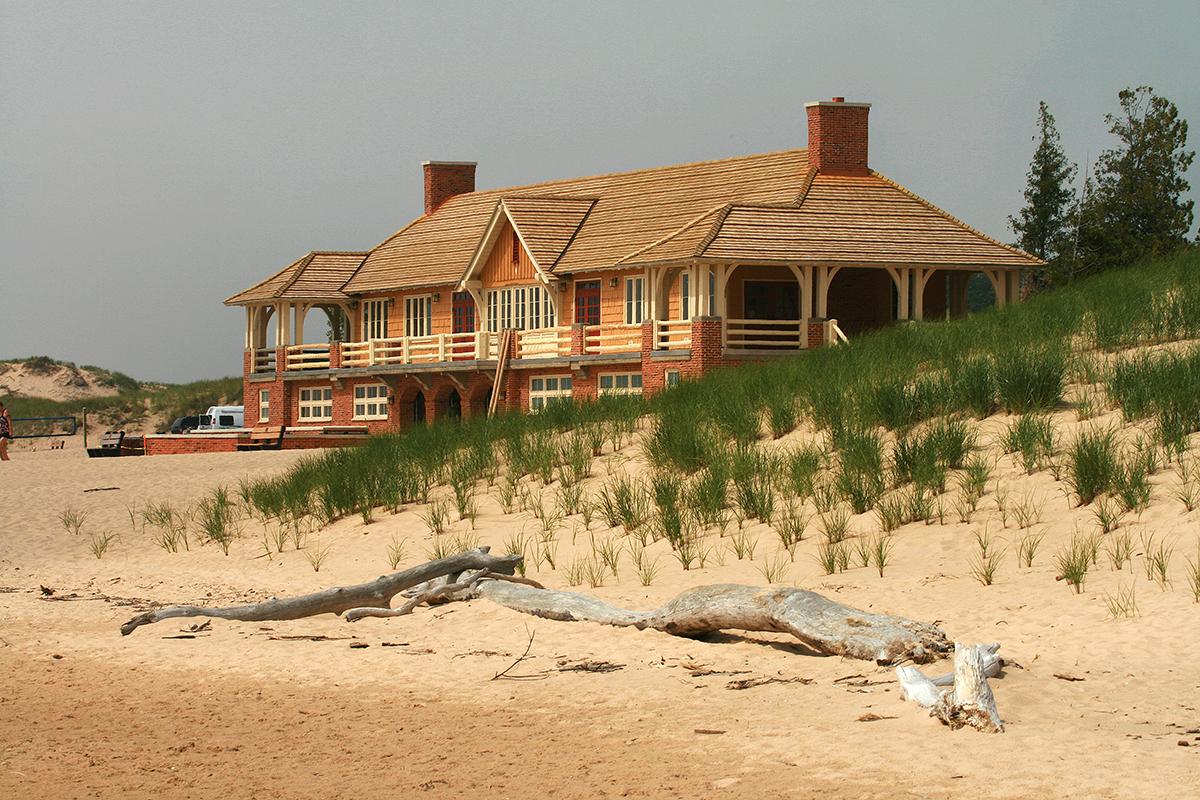 ludington beach house