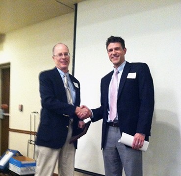 Cruickshank receiving MSPE award