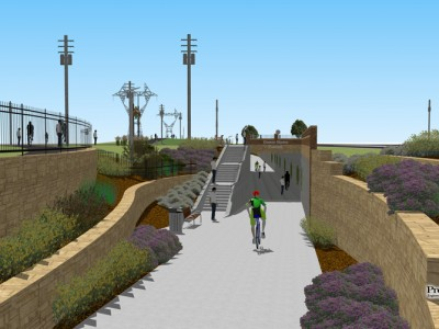 Help Fund Walker's New Pedestrian Tunnel under M-45
