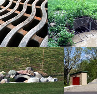 Stormwater collage