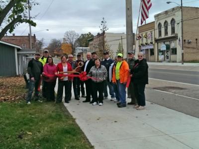 Village of Lyons Celebrates Bridge Street Completion