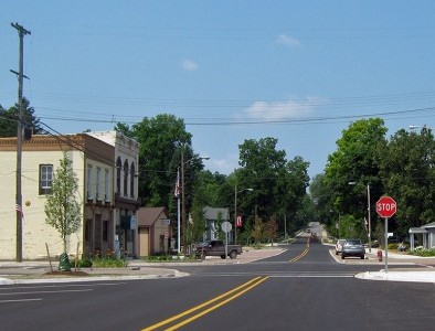 Village of Lyons Receives Bridge Street Streetscape MEDC Downtown Infrastructure Grant
