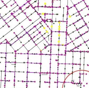 utility map