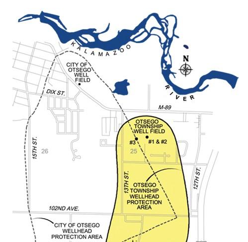 wellfield map