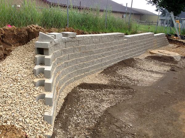 goodwill retaining wall