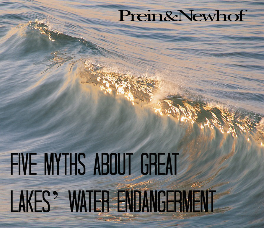Five Myths Great Lakes Water