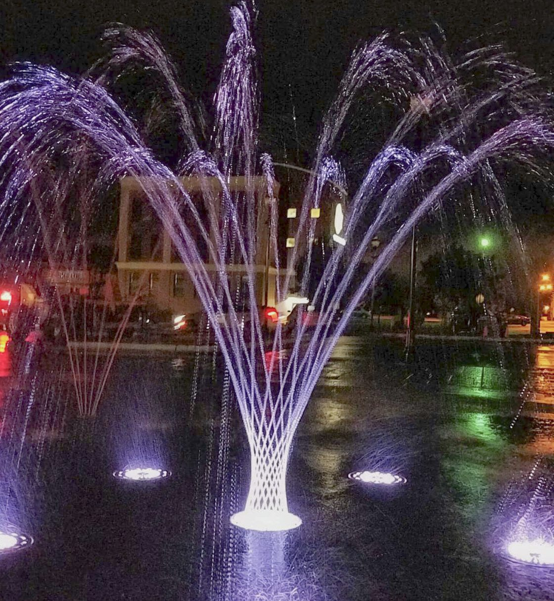 Downtown Cadillac Splash pad