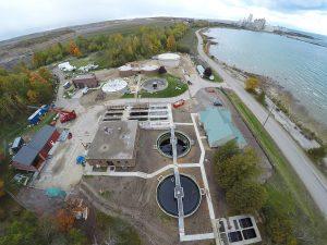 Charlevoix wastewater treatment plant