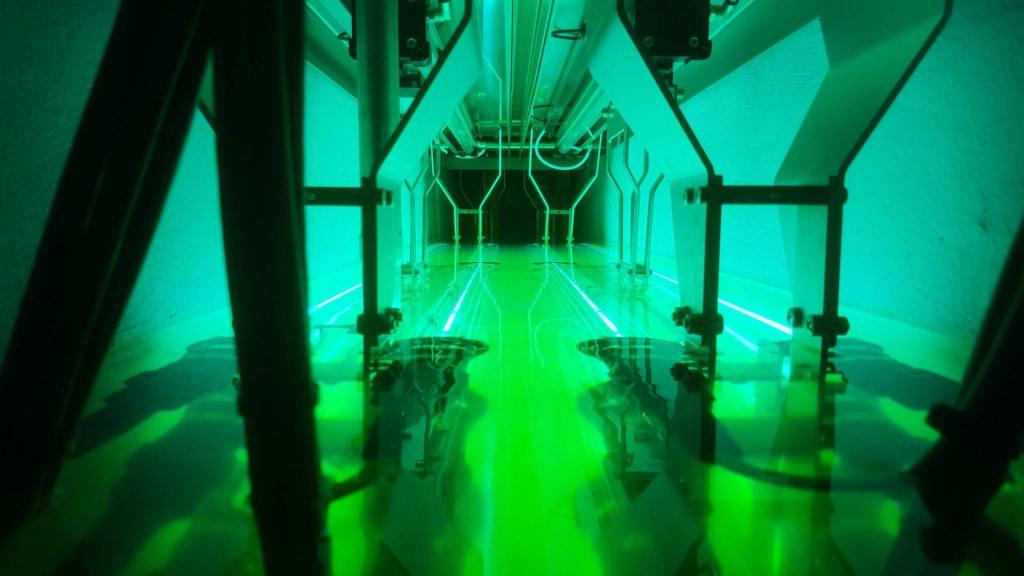 Inside a UV filter