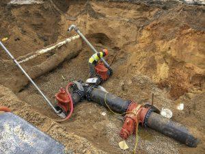 water main replacement in Lakewood