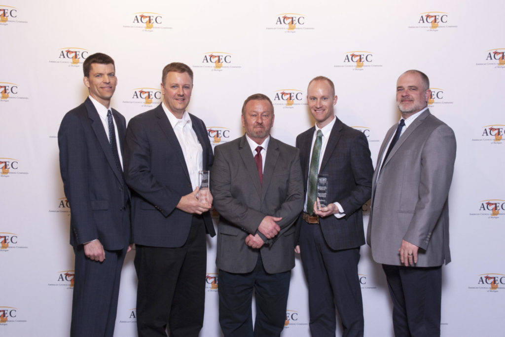 ACEC/M awards Prein&Newhof for Innovative Water Treatment Project
